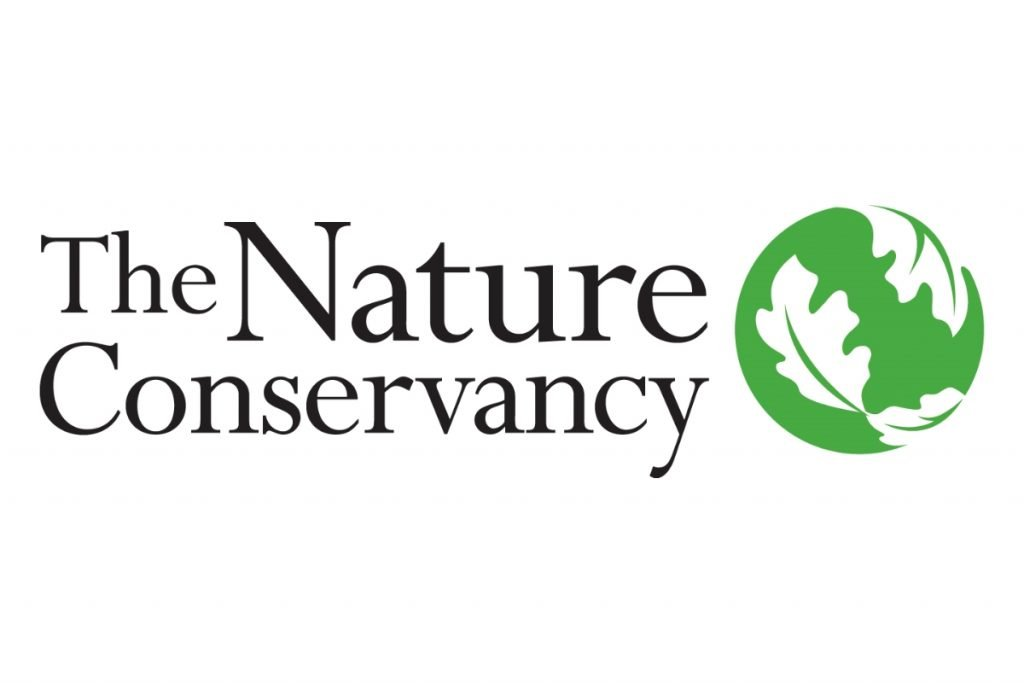 The Nature Conservancy, green globe logo